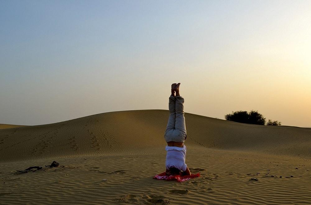 Yoga retreat Morocco desert