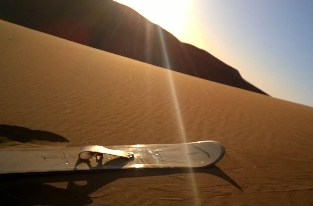 Sandboarding Sahara Morocco