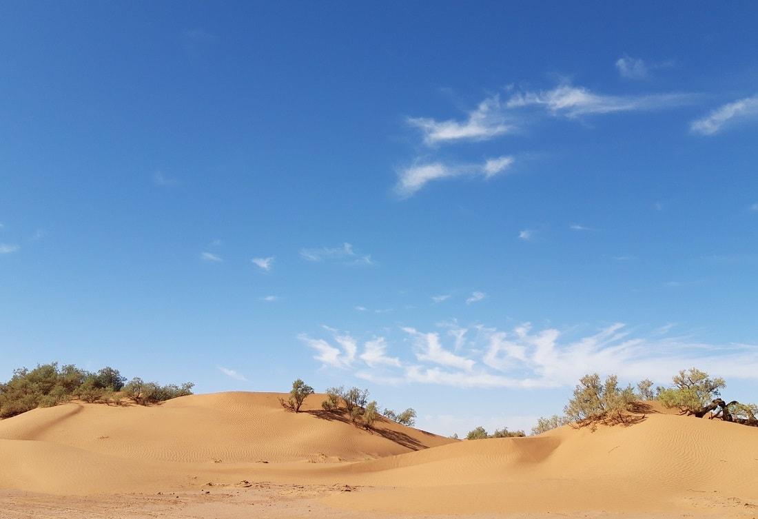 night Morocco desert