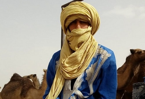 Camel trek Morocco